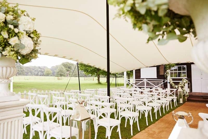 Ceremony canopy