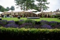 Wedding marquee at home