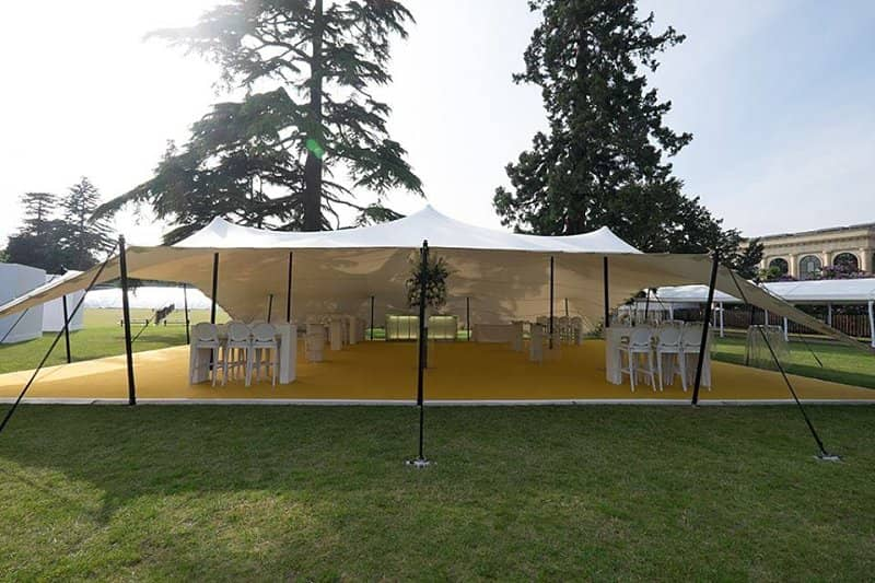 corporate event marquee