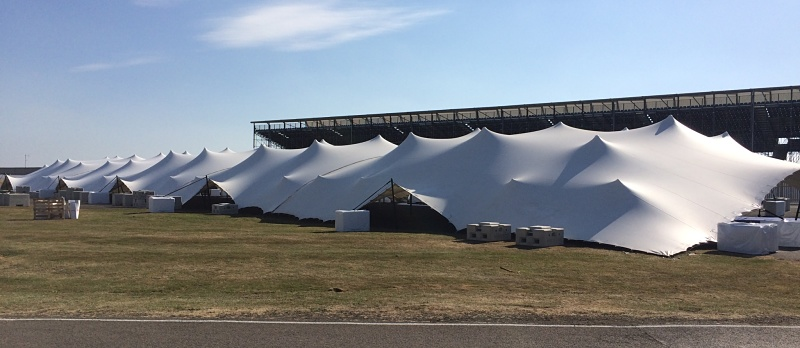 Largest stretch tent in the world