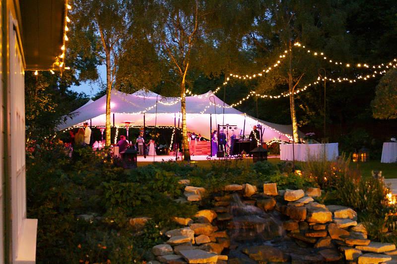 Stretch Tent Hire Wedding Event
